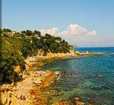 Strand-Zuid-Frankrijk