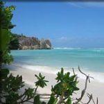 Bounty-eiland: La Digue (Seychellen)